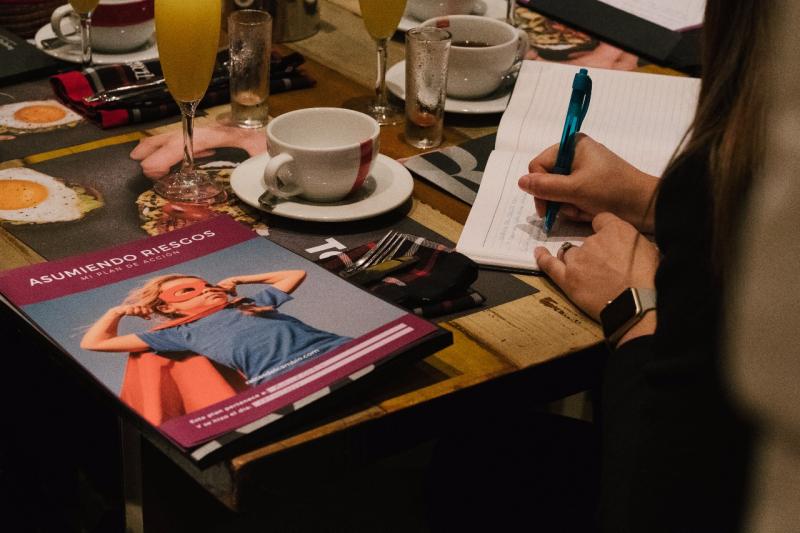 Taller para mujeres profesionales: Asumiendo Riesgos